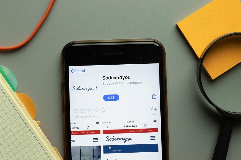 mobile app sodexo